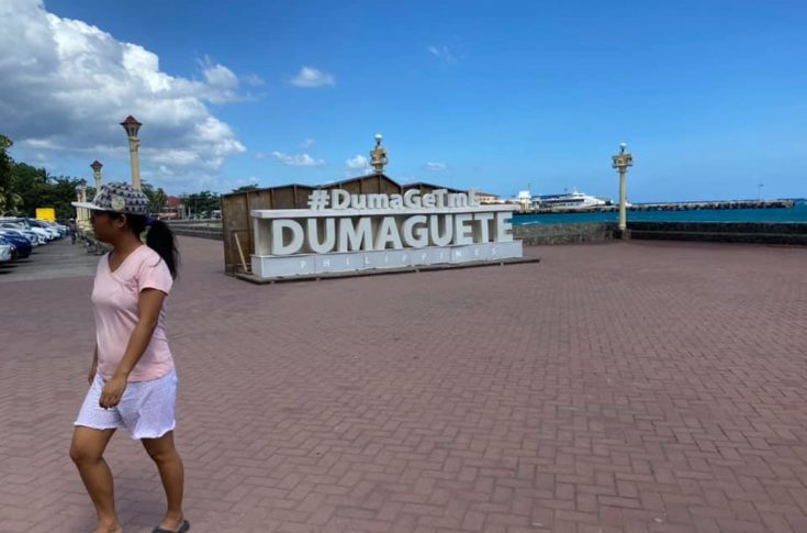 Dumagete, nem éppen sok turistával