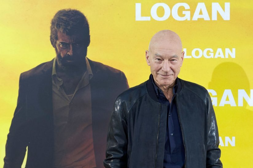 MADRID, SPAIN - FEBRUARY 20: Actor Patrick Stewart attends 'Logan' (Logan Su Momento Ha Llegado) photoall at the Vilamagna hotel on February 20, 2017 in Madrid, Spain. (Photo by Carlos Alvarez/Getty Images)