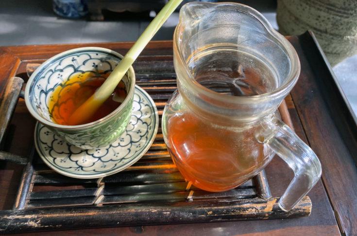 A végén a tea