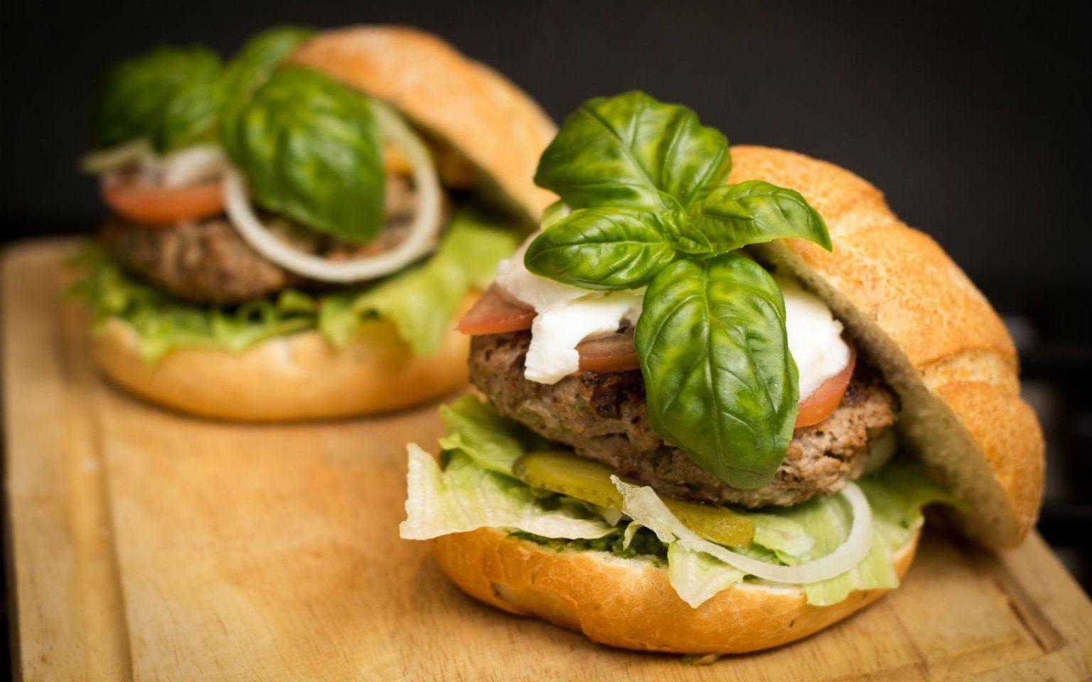 hamburger-food