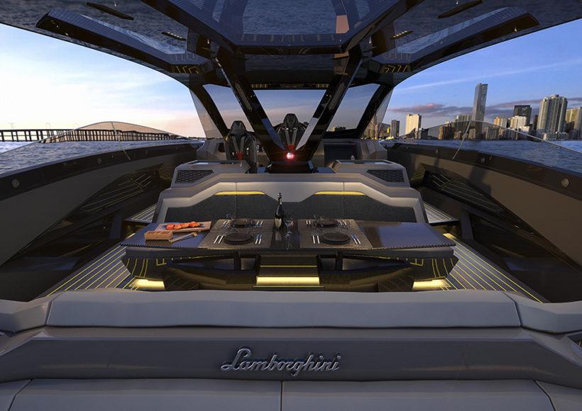 Lamborghini motorcsónak