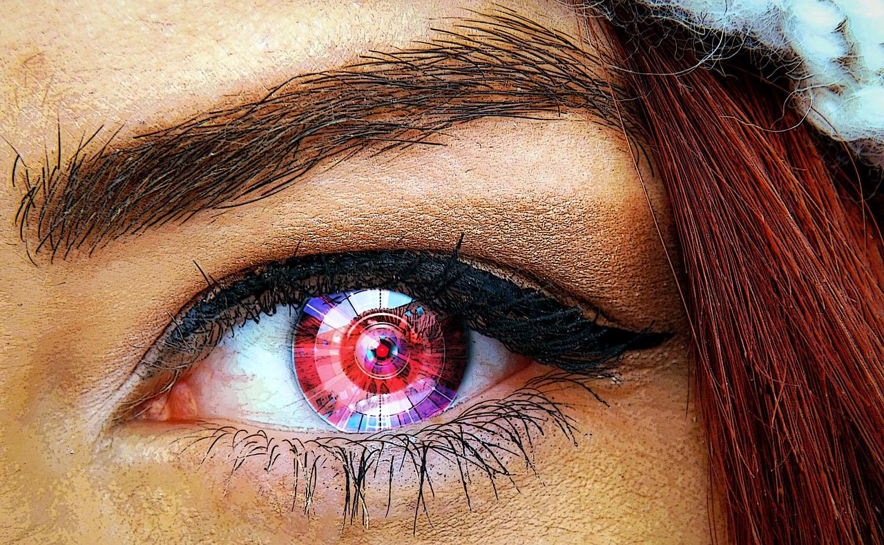A VR kontaktlencse nem lesz zavaró (forrás: pixabay.com)